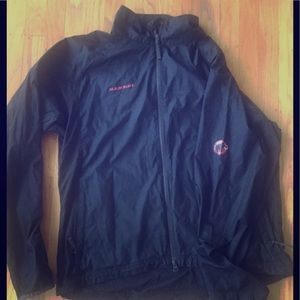 Mammut black lightweight jacket XL excellent style